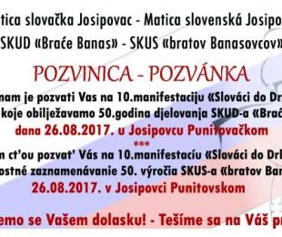 MS Josipovac:  10. manifestacija