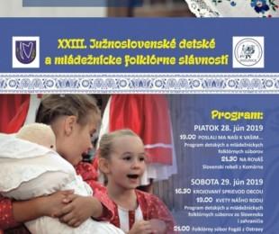 XXIII. Južnoslovenské detské a mládežnícke folklórne slávnosti v Dulovciach