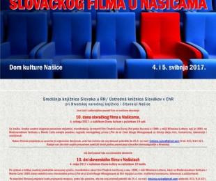 Knjižnica Našice: 10. dni slovenského filmu v Našiciach