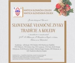 Slovenské vianočné zvyky, tradície a koledy