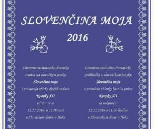 Literárno recitačno dramatická prehliadka v slovenskom jazyku Slovenčina moja