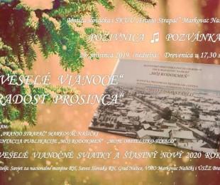 Koncert Radost prosinca i prezentacija publikacije Môj rodokmeň