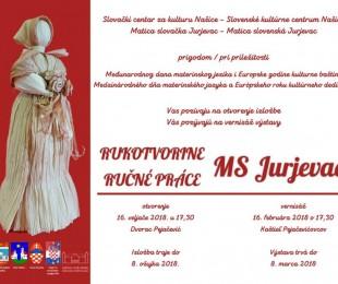 Výstava ručných prác MS Jurjevac