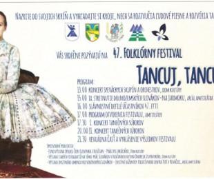 47. Folklórny festival: Tancuj, tancuj... Hložany