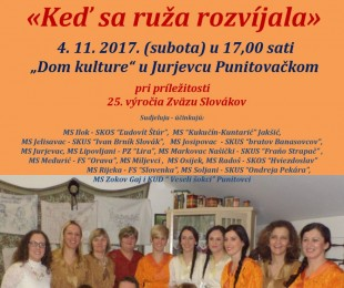 19. festival slovačke glazbe i pjesme
