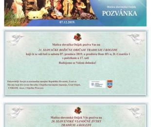 21. Slovenské vianočné zvyky, tradície a koledy