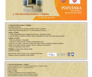 5. Dni slovenskej kultúry v Osijeku