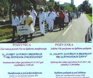 MS Zokov Gaj: 12 Susret Slovaka i prijatelja pri žetvenim svečanostima