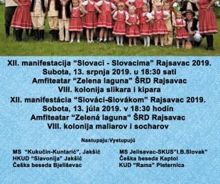 XII. Slováci Slovákom